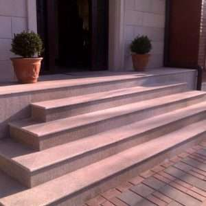 placii de granit galben pentru exterior