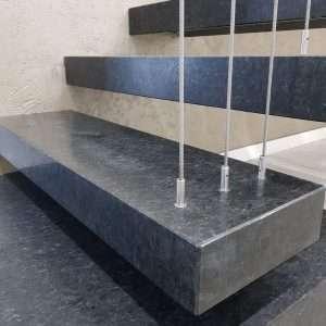Granit Negru Angola periat
