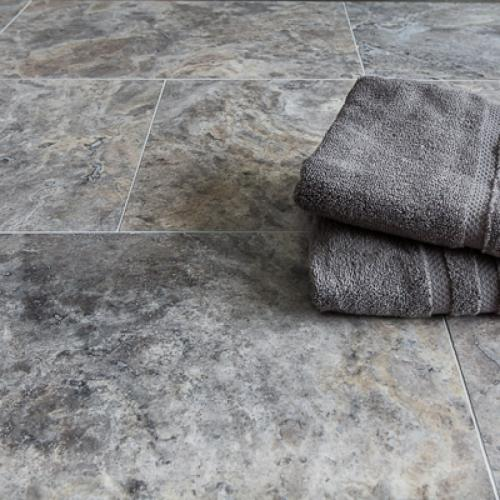 Silver-Travertine-Honed-Filled